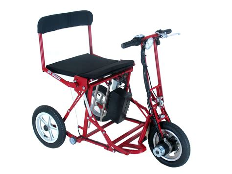 Di Blasis Motorized Folding Tricycle by Free Folding Tricycle Di Blasi Mod R30