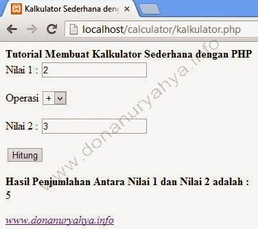 tutorial delphi membuat kalkulator cara membuat kalkulator dengan php donanuryahya com
