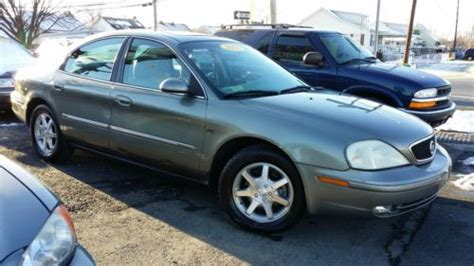 how to sell used cars 2001 mercury sable transmission control sell used 2001 mercury sable ls premium sedan 4 door 3 0l in dundalk maryland united states