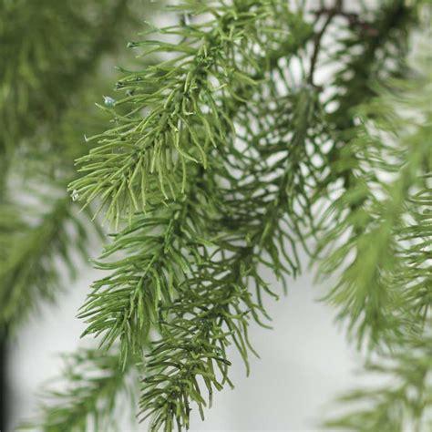 artificial evergreen garland garlands