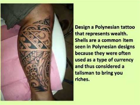 how to design a polynesian tattoo how to design a polynesian tribal tattoos designs