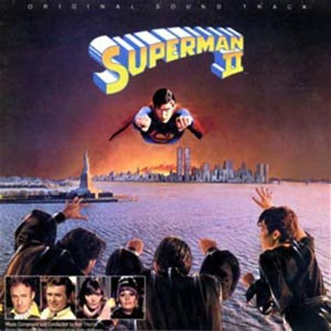 Cd Superman superman ii soundtrack details soundtrackcollector