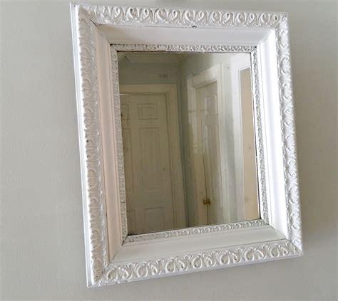 shabby chic mirrors white home design ideas