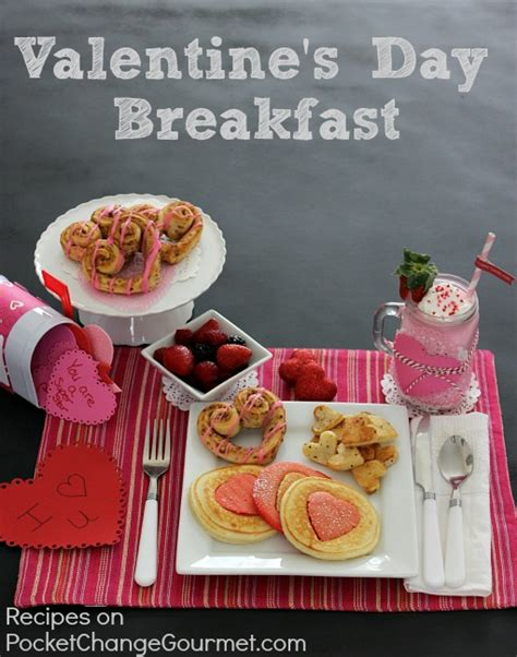 valentines day breakfast ideas food ideas for pocket change gourmet