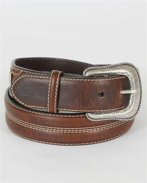 roper 174 s leather concho belt fort brands