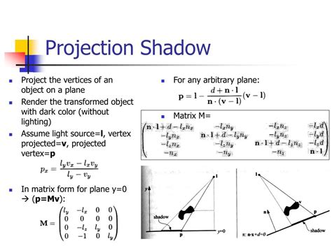 Shadow Projection L by Ppt Real Time Rendering Powerpoint Presentation Id 500980