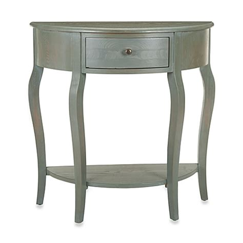 Small Demilune Table by Buy Safavieh Jan Demilune Small Console Table From Bed