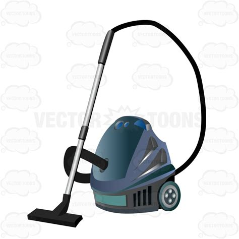 vacuum emoji cartoon clipart vacuum cleaner with stick and large