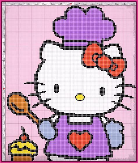 imagenes faciles para dibujar en cuadricula dibujos de hello kitty a color para imprimir archivos