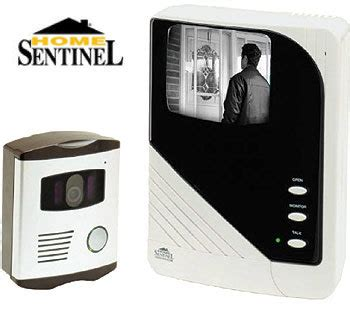 home sentinel electronic intercom security system