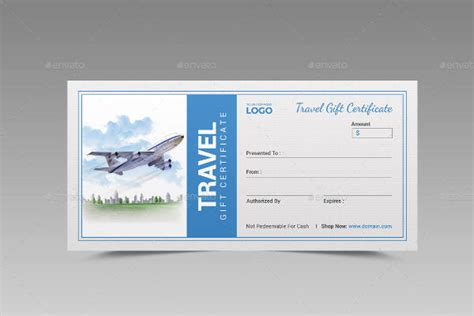 Vacation Card Template by 56 Gift Certificate Templates Sle Templates