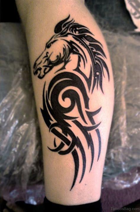 tribal tattoo horse 108 great looking tribal tattoos on leg