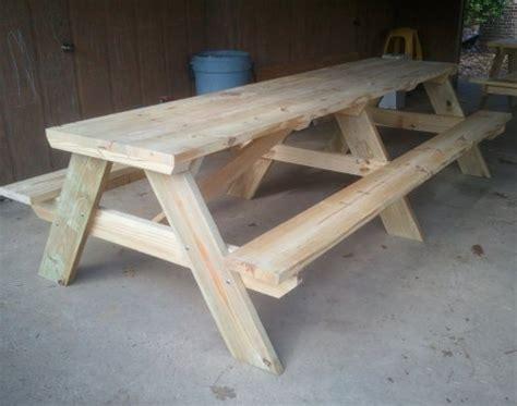 Picnic Table Diy by 10 Picnic Table Diy Homestead Survival