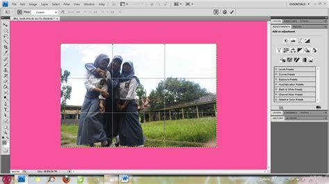 cara membuat garis tepi foto di photoshop tutorial photoshop cara membuat efek fisheye di photoshop