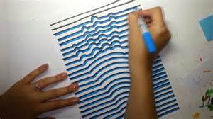 How to draw a 3d hand optical illusion youtube