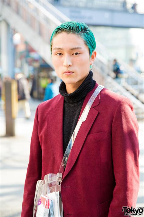 Dutchys Nana Doctor Bag by Aqua Haired Valentino Japan Staffer In Stylish Suit W