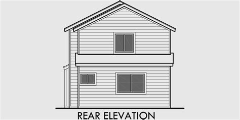 house plans with view in back house plans with front and back views