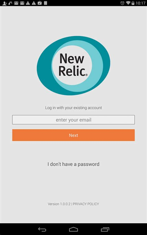 new app for android new relic android app android apps on play