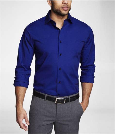Blue Sailor Wide Collar Blouse fitted 1mx spread collar shirt express stuff blue shirts collar shirts