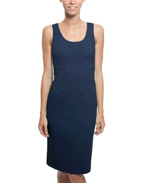 Armani Collezioni New Orleans Piccola Purse by Navy Sleeveless Jersey Dress Armani Collezioni