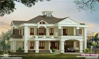 Luxury Home Plans Online by 4 Bedroom Luxury Home Design Kerala Home Design And