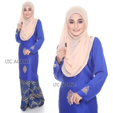 Baju Songket Baby Blue baju kurung moden songket dokoh iv all sold out saeeda collections