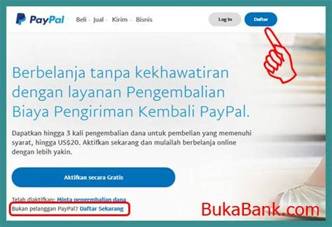 membuat paypal dengan rekening bank cara membuat account paypal dengan kode rekening bank lokal
