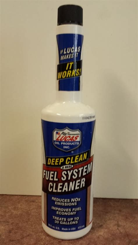 Lucas Clean Fuel System Cleaner lucas clean fuel system cleaner treatment for any type of vehicle 473ml mj products