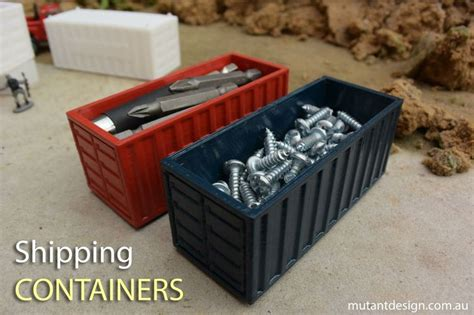 3d printed resistor storage 3d printed shipping containers modular storage by mutant design pinshape