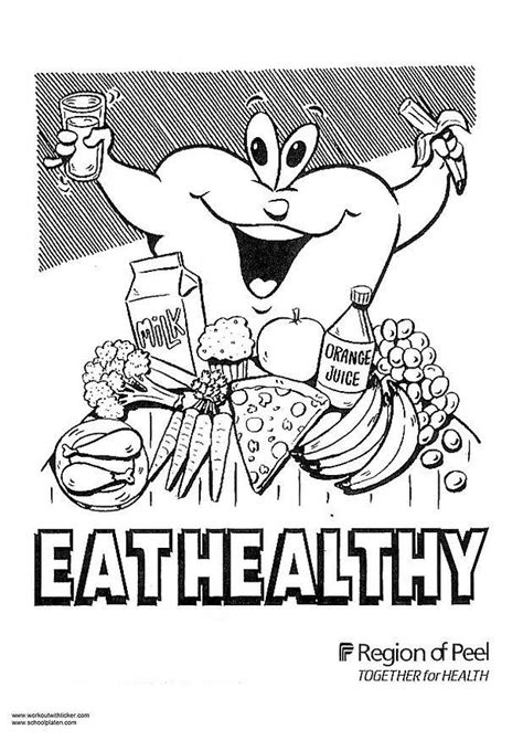 nutrition alphabet coloring pages healthy coloring pages 171 free coloring pages
