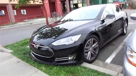 Tesla Model S Blacked Out Blacked Out 2013 Tesla Model S