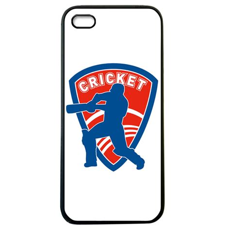 Sarung Book I Phone5 5s by Snoogg Cricket Logo For Apple I Phone5 5s Cover