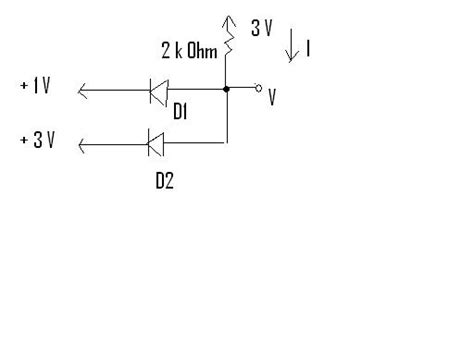 how to determine if a diode is conducting diode question conducting cutoff electrical engineering stack exchange