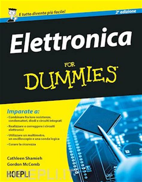 libreria elettronica elettronica for dummies shamieh libro hoepli 02 2015