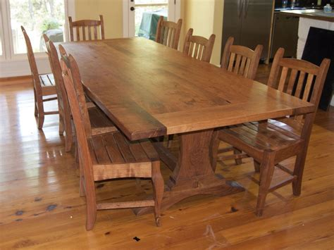 mesquite wood dining table crafted mesquite table set by homestead heritage