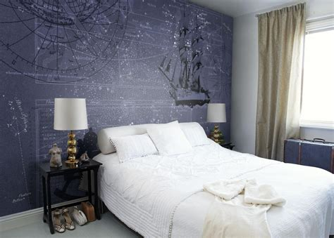 Manhattan Wall Mural star map wallpaper mural designed by m korn mr perswall