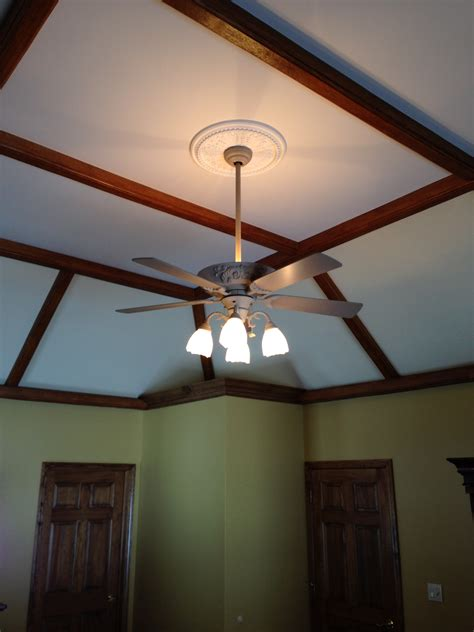 Ceiling Load by High Vaulted Ceiling Gets A New Look Faux Wood Workshop