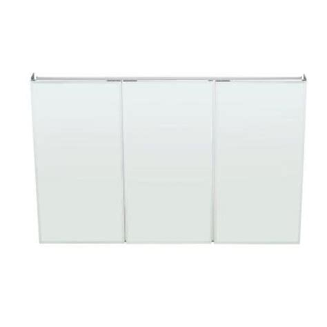 pegasus medicine cabinet 48 pegasus 48 in x 31 in recessed or surface mount medicine