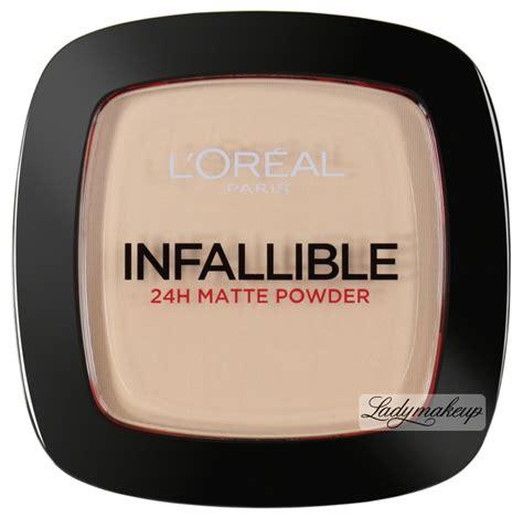 L Oreal Infallible Powder l or 233 al infallible 24h matte powder puder matuj艱cy