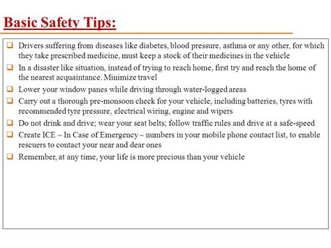 basic boat driving rules safe driving tips in monsoon ppt video online download
