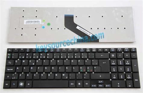 Keyboard Laptop Acer Aspire 5755g 5831 Original win7 acer aspire 5755 5755g 5830 5830g 5830tg v3 531 v3 531g nordic keyboard swedish tangentbord