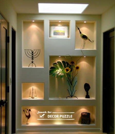 New Wall Design Modern Pop Wall Designs In Hall Shelves In Pop Designs