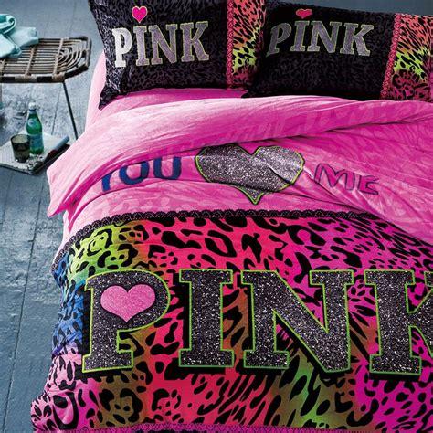 Victoria Secret Pink Velvet Model 4 Queen Size Pink Secret Bed Set