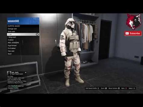 top 10 modded outfits! gta 5 online tryhard rng clothing