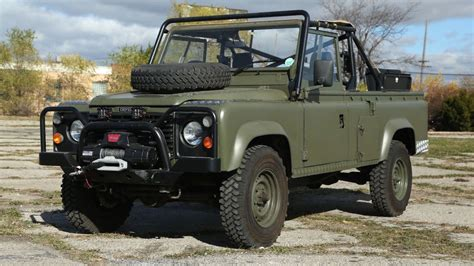 Build A Car Workshop by This Land Rover 110 Is The Military Vehicle You Ve Always