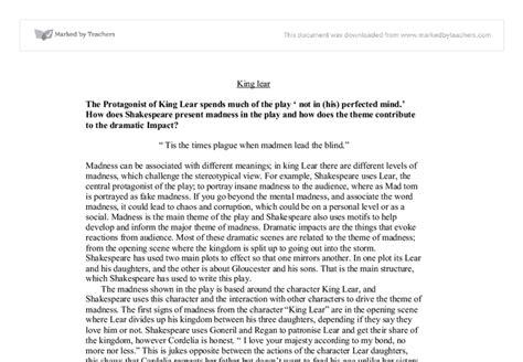 King Lear Essay Questions by King Lear Essay Topics Reportz725 Web Fc2