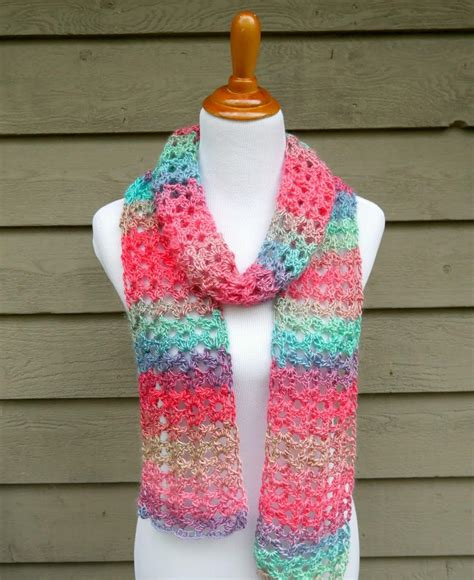 crochet how island lace crochet scarf allfreecrochet