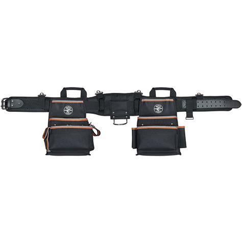 electrician tool belt tradesman pro electricians tool belt medium 55427 klein tools for professionals since 1857