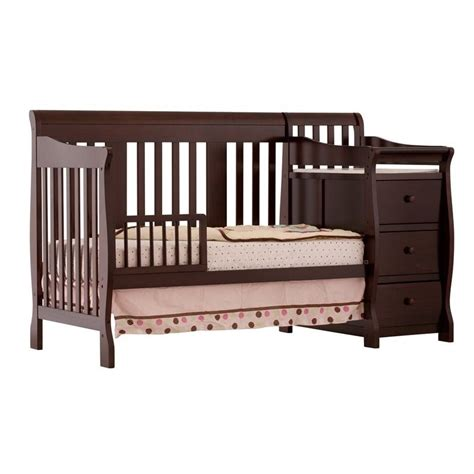 Crib And Changer Combo by 4 In 1 Crib Changer Combo In Espresso 04586 479