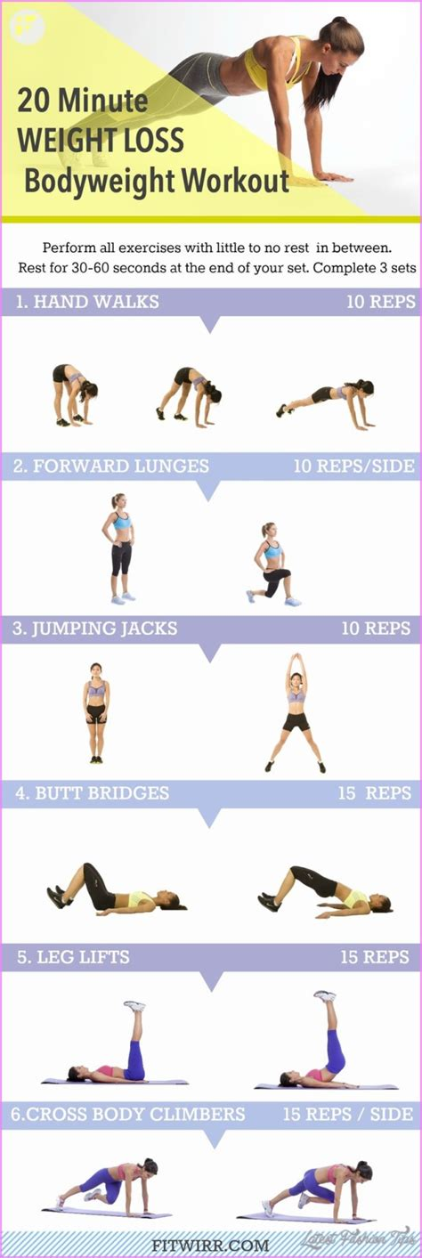 10 best exercises for weight loss at home